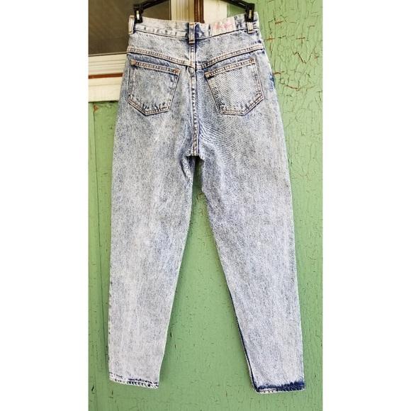 2fc189bf8 Vintage Jeans   Vtg 80s High Waisted Blue Acid Wash Denim   Poshmark